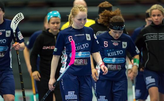 Eliisa Alanko iski 56 maalin kaudellaan 2,55 maalia per peli. Kuva: Jari Turunen