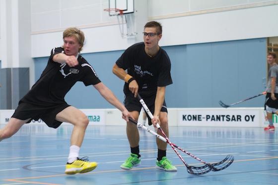 Heikki Hätönen on tänäkin vuonna Lammin Salibandyn tärkein pelaaja. Kuva: Mika Virtanen