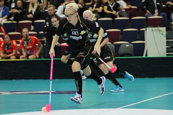 SB-Pron My Kippilä on naisten maajoukkueen tulevia tähtipelaajia. Kuva: IFF