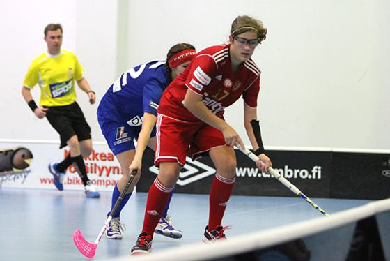 Oona Kauppi on siskonsa Veeran jälkeen Kooveen toiseksi tehokkain pelaaja. Kuva: Koovee