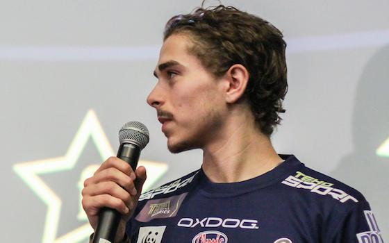 Ruotsin junioripelaaja 2013, Jesper Kivipaasi on yksi mielenkiintoisimmista junioreista alkavalla kaudella. Kuva: Mika Hilska