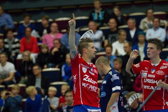 Mikko Kohonen osui tänään kolmesti Classicin verkkoon. Kuva: Topi Naskali
