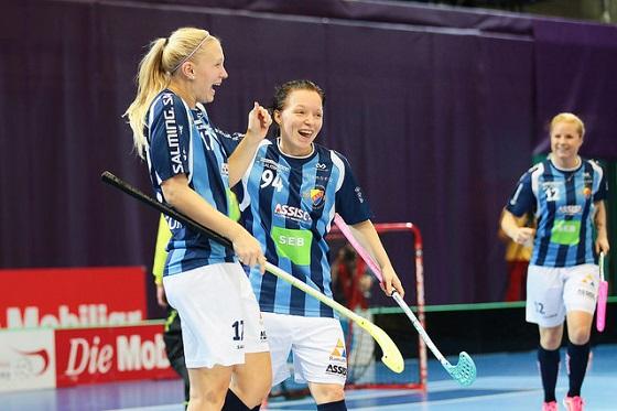 Champions Cup oli Djurgårdensin juhlaa. Kuva: IFF