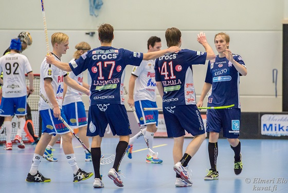 Seuraavaksi on SC Classicin vuoro kohdata FBC Turku Turussa. Kuva: Elmeri Elo