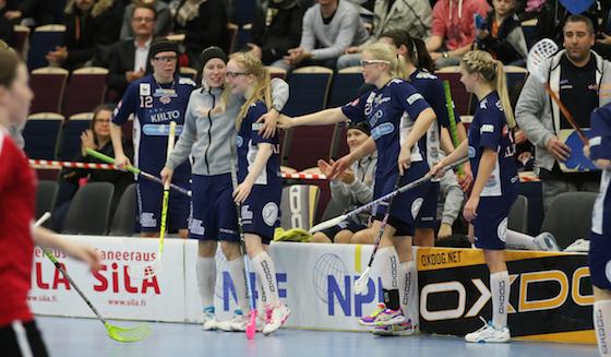 Classicin Eliisa Alanko (6) herkutteli tehot 4+2 finaaliuusinnassa SB-Pro:ta vastaan. Kuva: Esa Takalo
