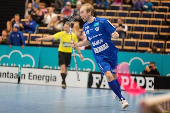 Lauri Kapanen summasi Nokiaa vastaan tehot 1+3. Kuva: Mikko Hyvärinen