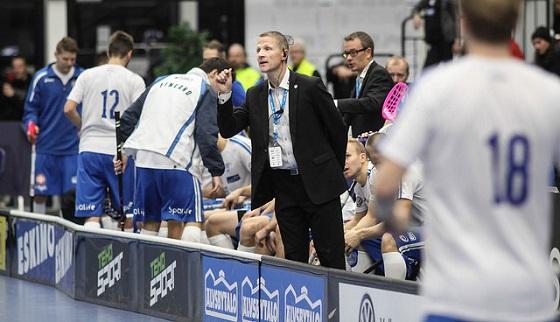 Petri Kettunen julkaisee MM-kisajoukkueen huomenna klo 12 alkavassa tiedotustilaisuudessa. Kuva: Salibandyliiga