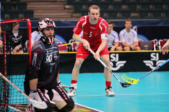 Marek Öige Viron maalilla ei kyennyt pysäyttämään Norjaa. Kuva: IFF
