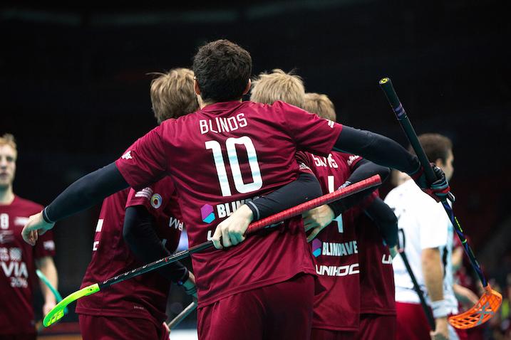 Atis Blinds oli nuorena kova kiekkoilija. Hän Latvian nuorten maajoukkuetason pelimies. Kuva: IFF