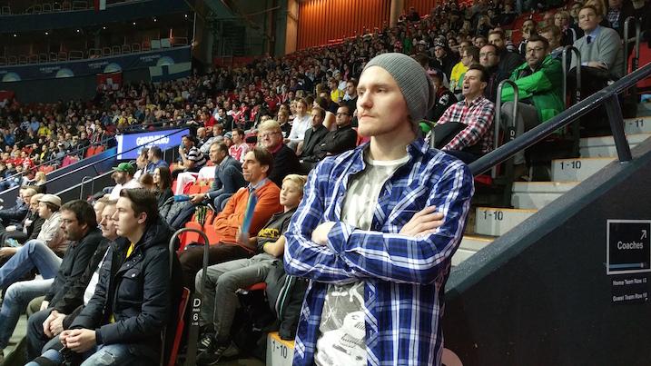 SPV-hyökkääjä Henri Myllymäki totesi, että Suomi vie 3–2. Kultaa tulee erinomaisen maalivahtipelin ja tiiviin puolustuksen ansiosta.