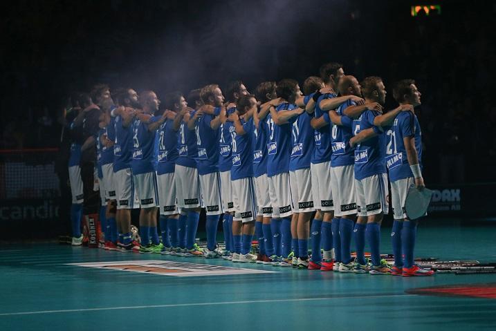 Suomi pelasi hienosti salibandyn MM-finaalissa, mutta Jani Hakkaraisen mukaan parannettavaa riittää seuraavalle MM-periodille. Kuva: Salibandyliiga