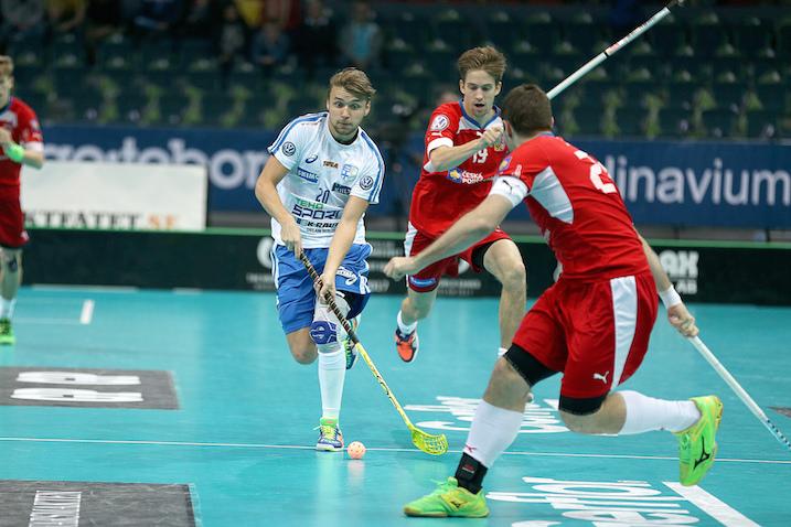Nico Salo pelasi mainion ottelun Suomen takalinjoille, muttei ollut aivan viiden kallon arvoinen. Kuva: IFF