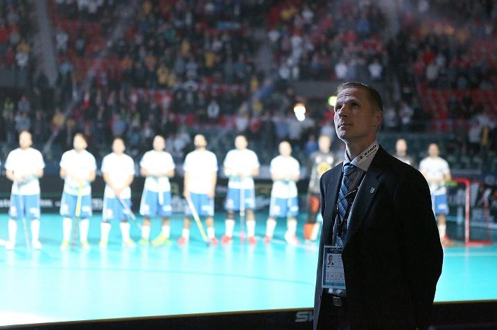 Petri Kettunen lähtee Tshekin turnaukseen mietteliäänä. Kuva: IFF