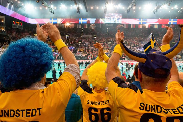 Ruotsi murskasi Suomen MM-finaalissa kaksi vuotta sitten lukemin 11–5. Se puhutti Pääkallossa. Kuva: IFF