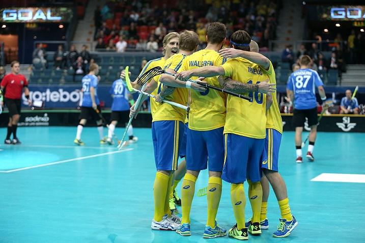 Viro jäi selkeästi Ruotsin jyrän alle. Lopputulos oli peräti 17-0. Kuva: IFF