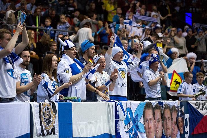Göteborgissa on paikalla mukavasti myös suomalaisfaneja. Kuva: IFF