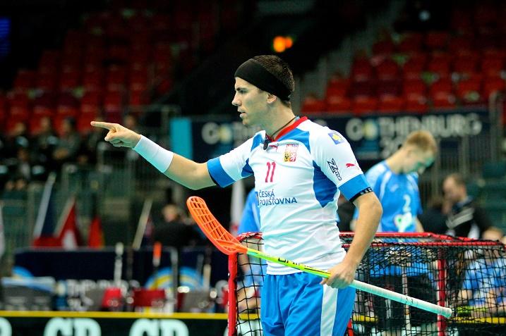 Tomas Sladky on iskenyt tässä turnauksessa tehopisteet 1+3. Kuva:IFF