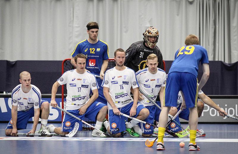 Suomi ja Ruotsi kohtasivat edellisen kerran Hämeenlinnassa marraskuun alussa. Kuva: Salibandyliiga