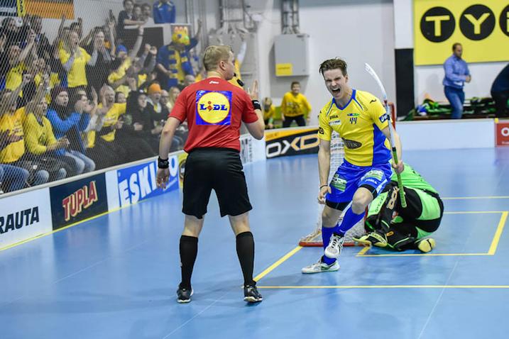 FBC Turku ehti pudottaa cupista Steelersin, Nokian KrP:n ja Kooveen. Kuva: Esa Haanperä