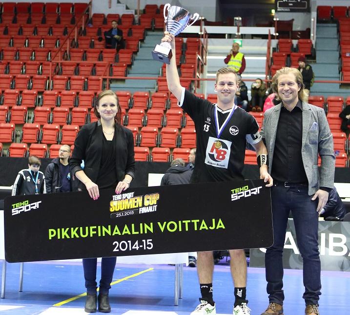 Juho Krankka oli pelipäällä Suomen Cupin  pikkufinaalissa. Tehot 3+3 ja voittomaali jatkoajalla kertovat olennaisen miehen panoksesta joukkueelleen. Kuva: Juhani Järvenpää