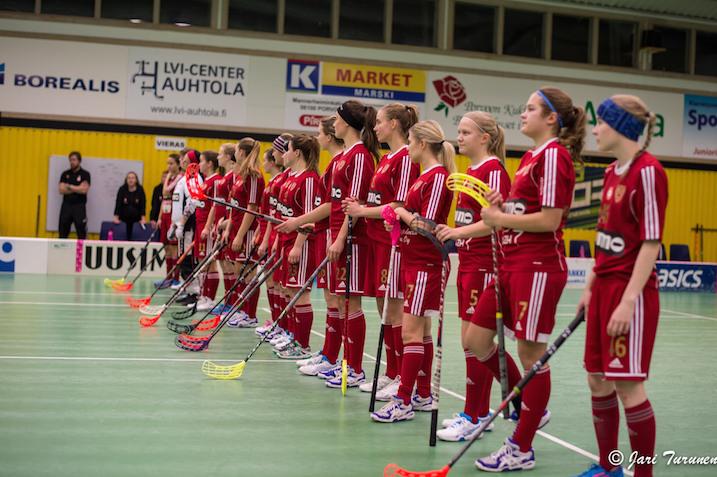Kooveen naiset voittivat tänään kotonaan M-Teamin. Arkistokuva: Jari Turunen.