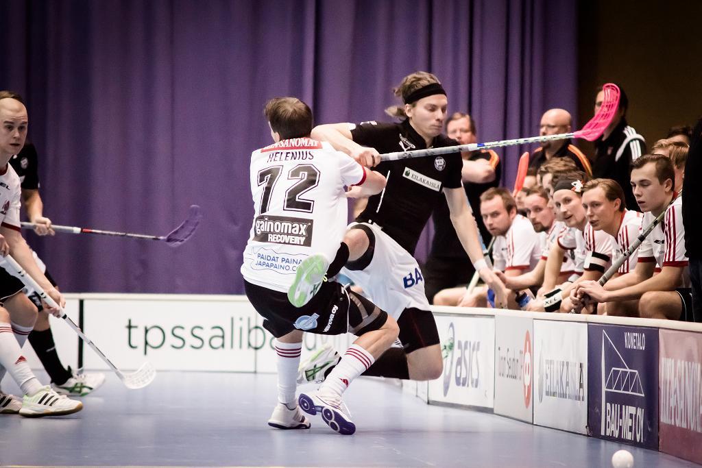 SSV pudotti TPS:n Suomen Cupin välierässä. Kuva: Anssi Koskinen