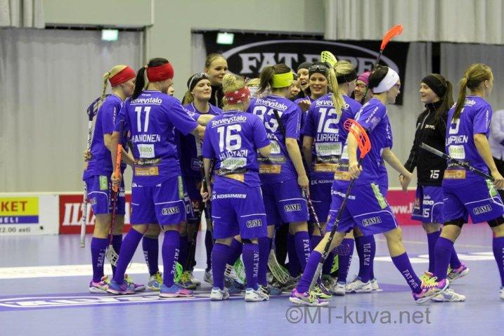 NST on voittanut yhdeksän ottelua putkeen. Kuva: Markku Taurama