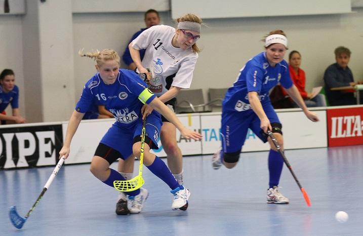 Erän Tuuli Huuskonen (16) on mukana maajoukkueleirillä. Kuva: Juhani Järvenpää
