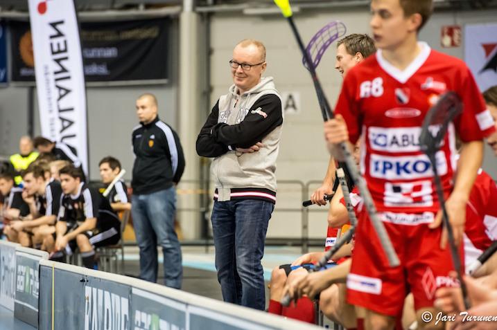 Antti Ruokonen hyppäsi mukaan Josban valmennukseen kesken kauden. Kuva: Jari Turunen