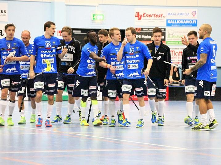 Loviisan Tor saavutti ensimmäisenä joukkueena paikan miesten Divarien välieriin. Kuva: Jarmo Jokila