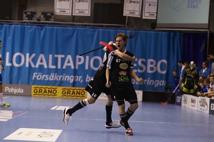 Miko Kailiala osui kolmesti Oilersin verkkoon. Kuva: Olli Laukkanen