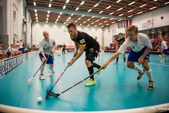 M-Team tai SB Welhot on Divarikauden 2014-15 paras joukkue. Kuva: Jari Turunen.