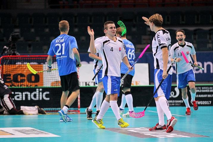 Slovakian lahjakas Martin Kubovic (valk. numero 4) väläytteli osaamistaan jo Göteborgin MM-kisoissa. Kuva: IFF