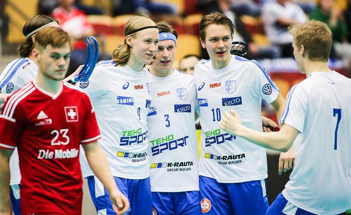 Suomen peli oli uomissaan Sveitsiä vastaan. Kuva: IFF