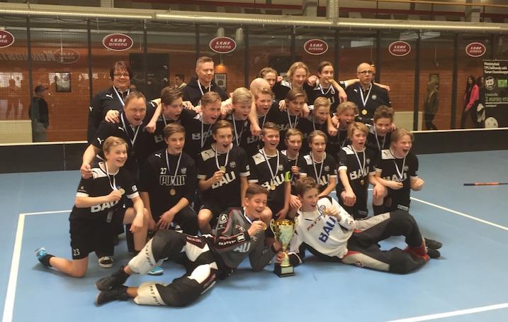 TPS:n C2-pojat. Kuva: Olli Koivisto.