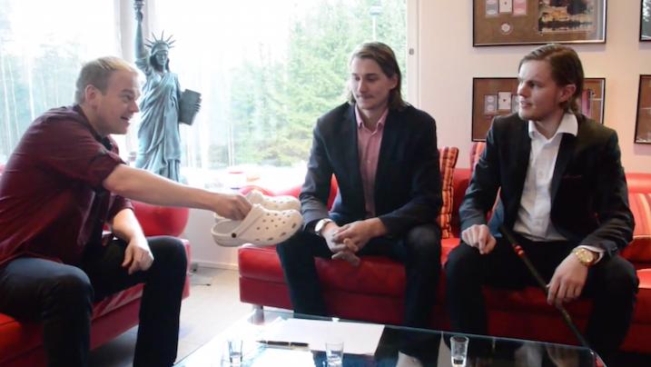 """SSV julkaisi Youtube-kanavallaan videon Miko Kailialan """"sopimusneuvotteluista"""". Videon voi katsoa tämän jutun lopusta."""