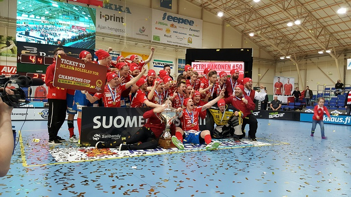 SPV on Suomen mestari vuosimallia 2015. Kuva: Jussi Ojala
