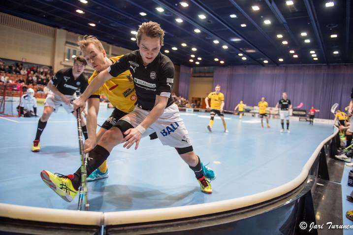 Ville Hirvisuo iski tänään tehot 1+1. Kuva: Jari Turunen.