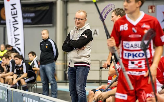 Antti Ruokonen johtaa Josban Divari-projektia. Kuva: Jari Turunen