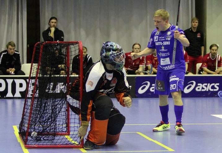 Tuomas Arponen mätti viime kaudella 20 maalia Lappeenrannan NST:lle. Kuva: Markku Taurama.