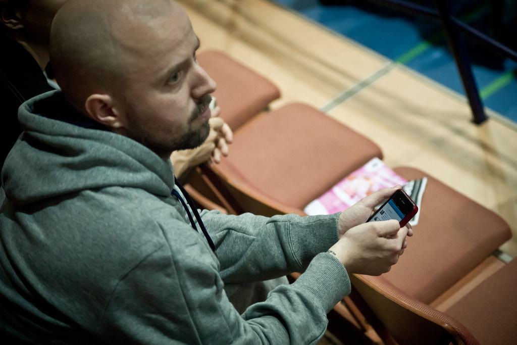TPS:n taustalla pitkään toiminut Perttu Kytöhonka siirtyy valmentamaan Sveitsin Unihockey Luzerniin. Kuva: Anssi Koskinen