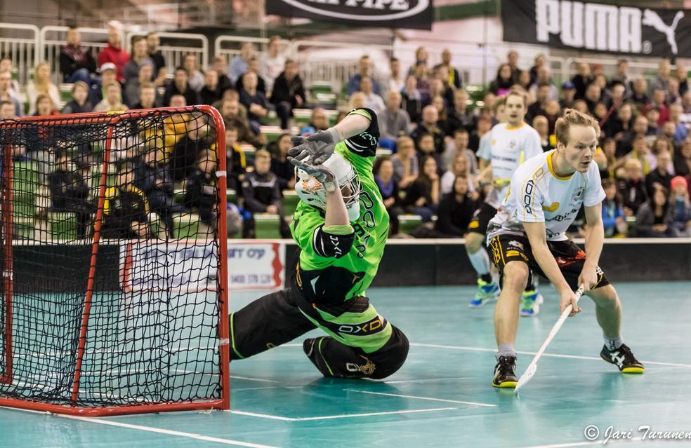 Sami Saarinen (28) on tehnyt vaikutuksen Allsvenskan-tryoutillaan. Arkistokuva: Jari Turunen