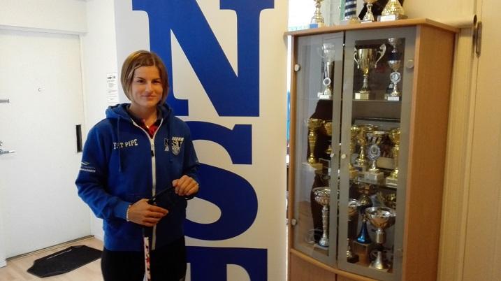 Hana Koníčková on NST:n tuorein vahvistus. Kuva: Otto Valavuo
