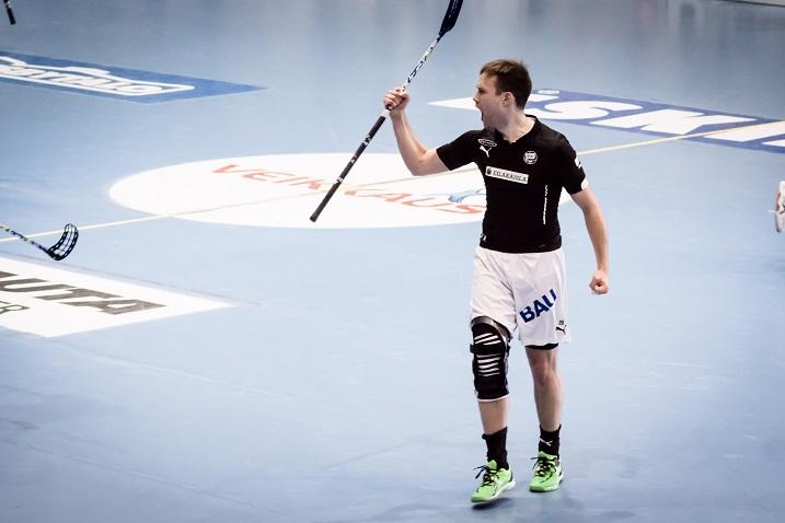 Joni Haapamäki pelaa ensi kaudella M-Teamin paidassa. Kuva: Anssi Koskinen