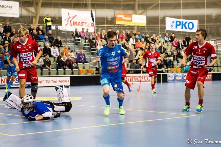 23-vuotias Kiipeli summasi viime kauden runkosarjassa tilastoihinsa peräti 25 maalia. Kuva: Jari Turunen