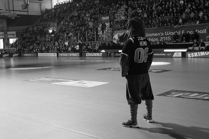 Happee on vienyt kahtena edellisenä keväänä finaalisarjan yksittäisen ottelun pelattavaksi jäähalliin. Ensi kauden yksittäinen finaali tullaan pelaamaan Hartwall Arenalla. Kuva: Salibandyliiga