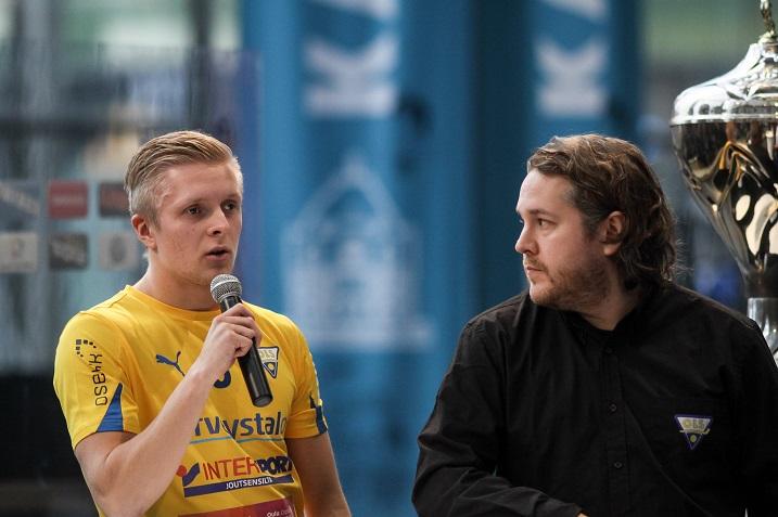 Liigaseura OLS sekä Divarissa pelaava LNM ovat solmineet farmisopimuksen tulevalle kaudelle. Kuva: Mika Hilska