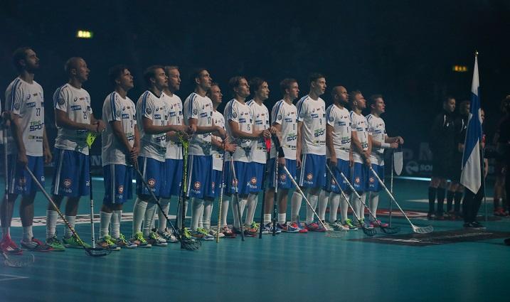 Suomen MM-karsinta-lohko pelataan Tallinnassa helmikuussa 2016. Kuva: Salibandyliiga