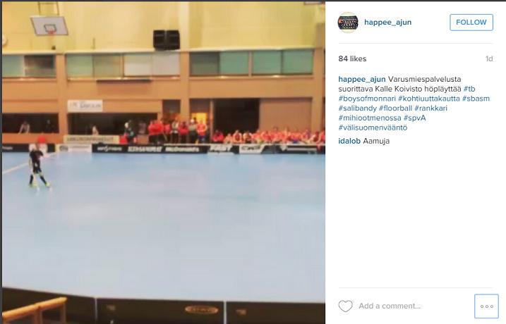 Kuva: Kuvakaappaus Happeen A-junioreiden Instagram-tililtä
