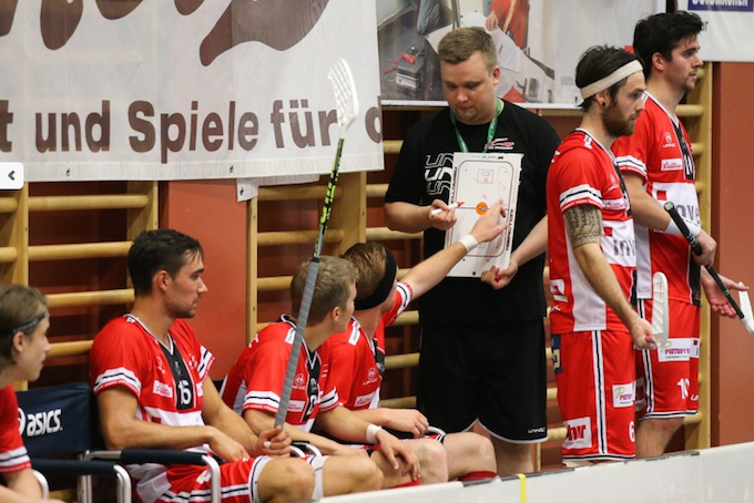 Iivo Pantzar toimii tällä kaudella Churin päävalmentajana. Kuva: Erwin Keller.